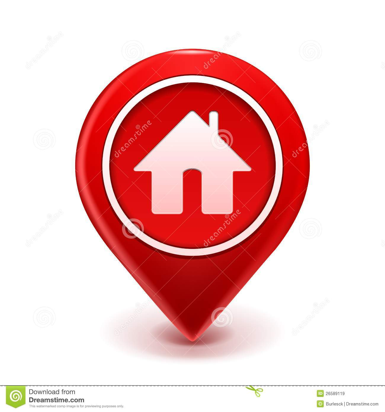 A house icon to clic on to apply for a home loan